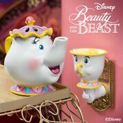 Scentsy Beauty And The Beastandrsquos Mrs. Potts Warmer And Chip Mini Warmer Wax