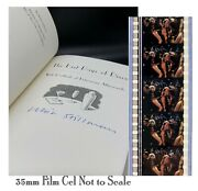 Whit Stillman Signed The Last Days Of Disco Novel Book With Rare 35mm Film Cel