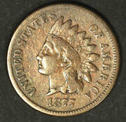 1877 1c Key Date -indian Head Cent