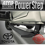 Amp Research Powerstep Automatic Running Boards For 2007-2020 Toyota Tundra