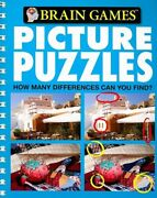 Brain Games - Picture Puzzles 3 How Many Differences Can By Publications Vg+