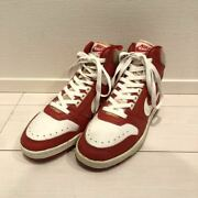 Nike Delta Force Red X White Made In Korea Men's Sneakers Us9 27cm 80s Vintage