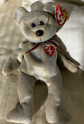 Ty 1999 Signature Bear Beanie Baby With Tag Sku112903p