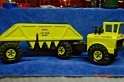 Vintage Mighty Tonka Bottom Dump Truck And Trailer Professionaly Restored