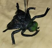 Vintage Oily Jiggler Rubber Flabby Fly Monster Novelty Toy Nos Hong Kong 1960s