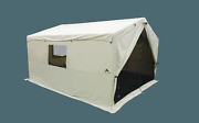 Outdoor Wall Tent12 X10 With Stove Jack Camping Sleeping Capacity 6 New