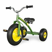 Tomy John Deere Mighty Trike Ride On Kids Tricycle Green And Yellow