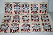 New Old Stock Lot 15 Vtg Union Bags 3 Oz Workman Chewing Tobacco Paper Pouches