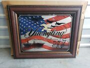 Yuengling America's Oldest Brewery Beer Mirror Bar/pub Sign-30x24 - Troops Flag