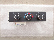 Gmc Chevy Acdelco 84793086 A/c Heater Climate Temperature Control Oem Brand New