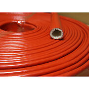 Heat-resistant Flame-retardant Casing Thickened Insulated Silicone Fiber Tube
