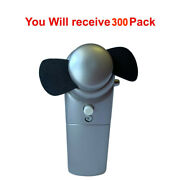 300x Portable Misting Fan Mini Pocket Handheld Cooling Personal Water Spray