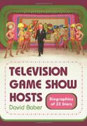 Television Game Show Hosts Biographies Of 32 Stars By David Baber Brand New
