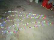 5 Sets Christmas Globe Holiday String Lights Blue Red Green Yellow