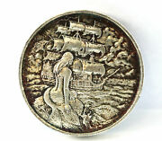 2 Oz Silver Privateer Series Elemetal Silver Round - The Siren - Amazing Toning