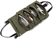 Super Roll Tool Roll,multi-purpose Tool Roll Up Bag, Wrench Roll Pouch,canvas To
