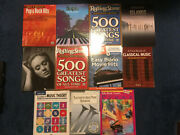 Lot Of 11 Piano Sheet Music Books Incl Alfred's Lesson Books