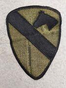 Vietnam War 1st Calvary Division Patch Vintage Us Army Military Badge Insignia