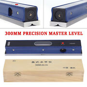12in Master Precision Level In Fitted Box For Machinist Tool 0.0002''/10'' Sale