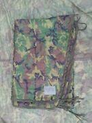 Us Military Issue Woodland Poncho Liner- 1985 Dated Nos