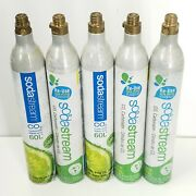 Lot Of 5 Sodastream 60l Co2 Cylinder Replacement Empty Canisters