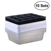 Seed Starter Tray Plastic White With Dome And Base Seedling For Gardening Bonsai
