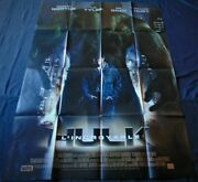 The Incredible Hulk French Movie Poster Original 4763 2008