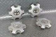 Note05-15 Tacoma Silver Oem 16 Wheel Center Cap Set Of Four 4x Factory