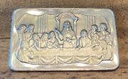 1973 The Last Supper Limited Edition Art Bar 943 Solid .999 Silver 1 Troy