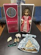 American Girl Doll Elizabeth Felicity's Best Friend Retired + 1 Outfit And Bed