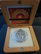 Sun Wukong Journey To The West   2020 Silver Coin Collectible   W/box And Coa
