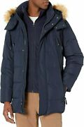 Marc New York By Andrew Mens Conway Hooded Matte Shell Parka Jacket...