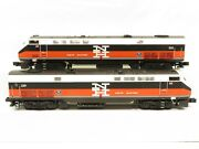 Mth 20-2461-1 And 3 New Haven Genesis Diesel Aa Set W/protosound 2.0 Ln
