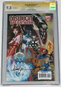 Onslaught Reborn 1 Cgc Ss 9.8. Signed Michael Turner Variant. Scarlet Witch Thor