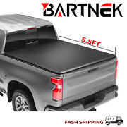5.5ft Soft Tri-fold Tonneau Cover For 04-14 Ford F150 06-14 Lincoln Mark Lt Bed