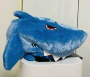 Jaws Plush Hat Blue Jaws Shark Universal Studios Japan Limited From Japan F/s