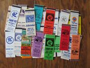 Union 76 Gas Station Lot Of 83 Different Matchbook Matchcovers -g28