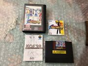 King Of Fighters '98 Cib W/game, Manual, Art Book, Case U.s. For The Neo-geo Aes