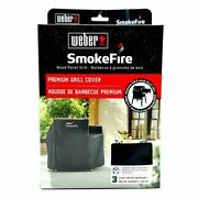 New Weber Smokefire Premium Grill Cover For Ex4 Wood Pellet 7190 - 47x31x44