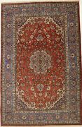 9x13 Rare High Kpsi Traditional Oriental Area Rug Floral Wool Carpet 8and0398x13and0395