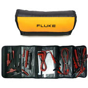 Fluke Tl81a Deluxe Electronic Test Lead Set Basic Cable Cord Wire Kit
