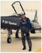 Chuck Yeager Signed 8 X 10 Photo