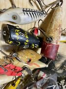 Antique Fishing Lures Lot