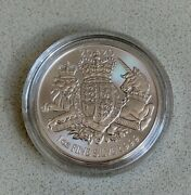 2020 Royal Arms 1oz Silver Bullion Coin.in Rm Capsulefast Free Delivery