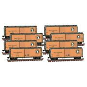 Micro Trains 99300820 N Scale Great Northern Boxcar 8-pk