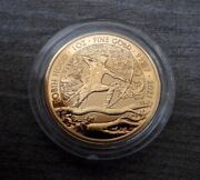 Robin Hood 2021 1oz Gold Bullion Coin Investment Capsuled - Limited New Series -