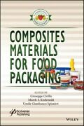 Composites Materials For Food Packaging Gp John Wiley And Sons Inc Hardback