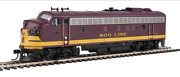 Walthers Proto 920-42521 Ho Scale Fp7/f7b Soo Line 2501a/2501c Dcc And Sound