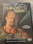 Wwf - Survivor Series 2000 The Rules Have Changed Dvd Wwe Rare