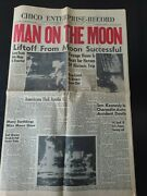 Chico Enterprise-record July 21, 1969 Man On The Moon Newspaper